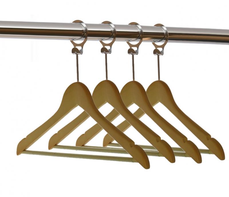 Soluciones para hotel for Ganchos de plastico para cortinas